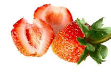 Free Fresh Strawberry Stock Image - 6455541