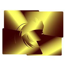 Gold Design Element Royalty Free Stock Image