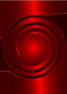 Free Abstract Red Background Stock Image - 6455771
