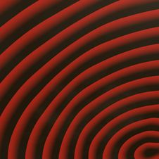 Free 3D Red Coils Royalty Free Stock Photo - 6455795