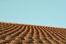 Free Roofing Tile Royalty Free Stock Photography - 6456097
