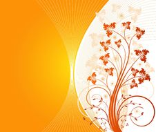 Free Floral Background Vector Royalty Free Stock Photo - 6456195