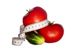Free Cucumber And Tomatoes Stock Photos - 6456273