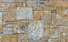 Stone Fence Wall Stock Photo