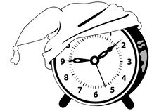 Free Alarm Clock - Time To Go To Bed Royalty Free Stock Photos - 6456868