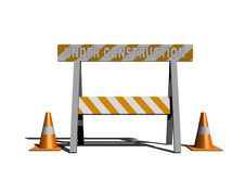 Free Under Construction Stock Photography - 6457022