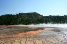 Free Hot Basin With Geysers Stock Image - 6457081
