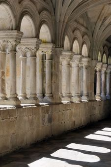Cloister And Shadows No.1 Royalty Free Stock Image