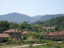 The Bulgarian Village Royalty Free Stock Images
