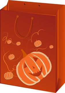 Free Halloween Paper Packet Royalty Free Stock Photos - 6457928