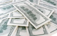 Free 100 Us Dollars Banknotes Stock Photography - 6457952