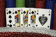 Free Chips & Cards Stock Photos - 6458143