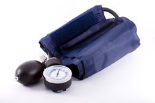 Free Clinical  Sphygmomanometer Royalty Free Stock Images - 6458709