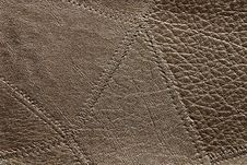 Free Natural Leather Texture Royalty Free Stock Photo - 6458925