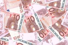 Free 10 Euro Notes Texture Stock Photos - 6458933