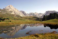Free Dolomites Reflection Royalty Free Stock Photos - 6458968