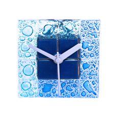 Blue Clock Stock Photo