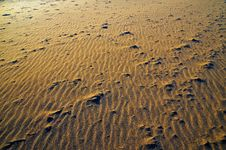 Free Sand Pattern Royalty Free Stock Images - 6459849