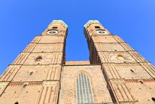 Free The Frauenkirche Cathedral In Munich Royalty Free Stock Photos - 6459918