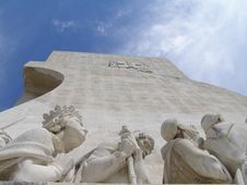 Lisbon Discoveries Monument Royalty Free Stock Photo