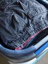 Free Folded Laundry In Baskets Royalty Free Stock Images - 6468519