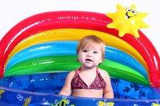 Free Little Girl - Pool Fun! Royalty Free Stock Photos - 6460678