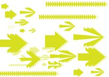 Free Moving Arrow Background Royalty Free Stock Image - 6460836