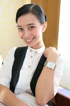 Free Waitress Stock Image - 6460931