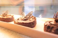 Free Brownies Cake Stock Photos - 6460973