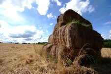 Free Hay Stack Royalty Free Stock Images - 6460979