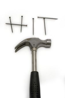 Free Hammer And Rivets Stock Images - 6461894