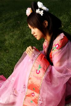 Free Classical Beauty In China. Royalty Free Stock Image - 6462716