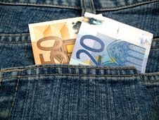 Free Jeans And Money Royalty Free Stock Images - 6462919