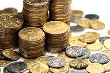 Free Ukrainian Coins Royalty Free Stock Photo - 6463195