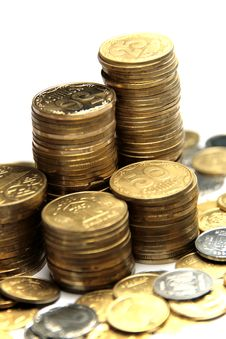 Free Ukrainian Coins Royalty Free Stock Images - 6463209