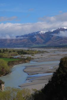 Free Mountains And River Stock Image - 6463481