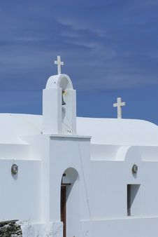 Free Greek Curch Stock Image - 6463731