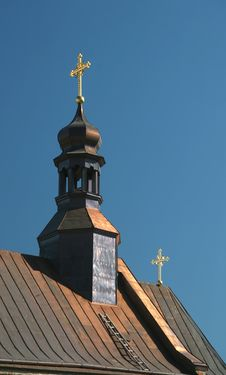 Free Dome Of Orthodox Church Royalty Free Stock Image - 6464216
