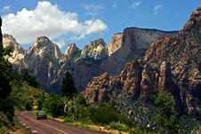 Free Zion Canyon Stock Image - 6464321