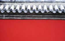 Free Chinese Red Wall Stock Photo - 6464720
