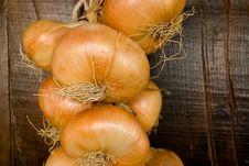 Free Onion Braid Stock Photo - 6464960
