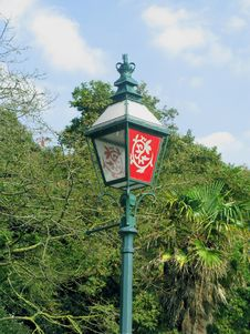 Royal Rotatable Lamp Post Royalty Free Stock Photos