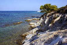 Free Greek Shoreline Stock Images - 6467114