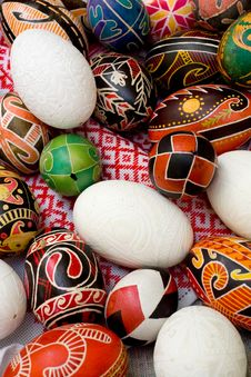 Free Ukrainian Easter Eggs Stock Images - 6467144