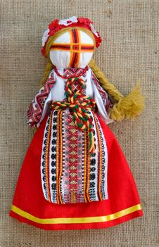 Free The Ukrainian National Doll Royalty Free Stock Photography - 6467157