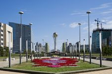 Free Astana-Avenue Of The Republic Stock Image - 6467161
