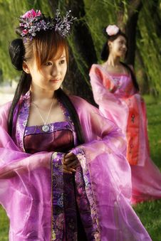 Free Classical Beauty In China. Stock Image - 6467171
