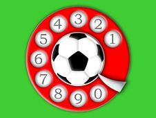 Free Football And Dial Stock Photos - 6467723