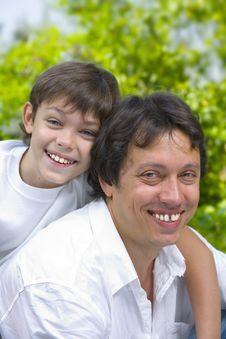 Free Father  And Son Stock Photo - 6467980