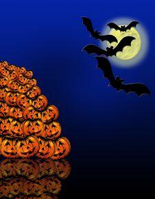 Free Halloween Illustration Royalty Free Stock Image - 6468106